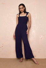 Load image into Gallery viewer, Emily Blue Jumpsuit