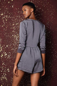 Frankie Grey Playsuit