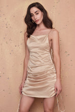 Load image into Gallery viewer, Frederica Gold Dress