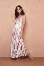 Load image into Gallery viewer, Lena Maroon Maxi Dress