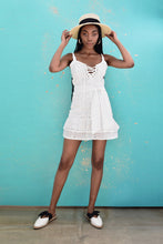 Load image into Gallery viewer, Tally White Dress