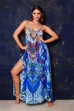 Load image into Gallery viewer, Trina Blue Dress