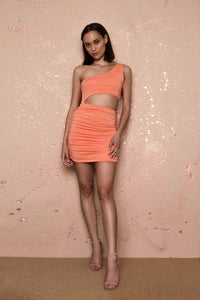 Wanda Orange Dress