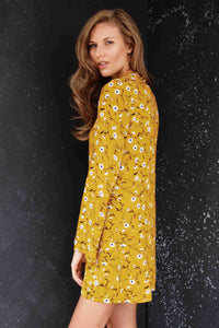 Zana Yellow Dress