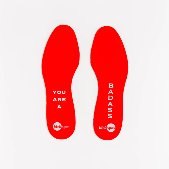 Poppy colored inspiration insert: You are a Badass