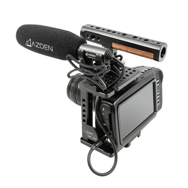 6 Inch Film + Video Shotgun Microphone