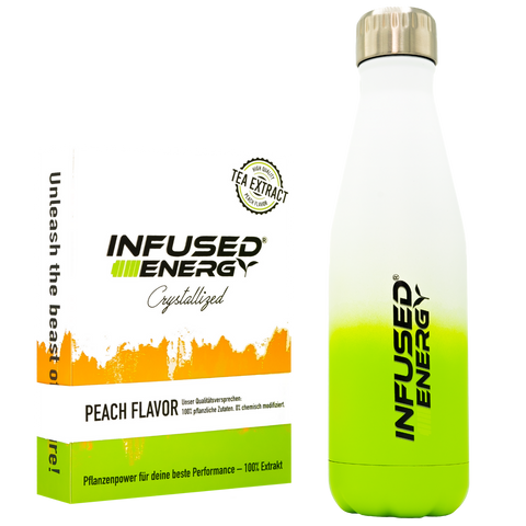 Infused energy crystallized PEACH - Set