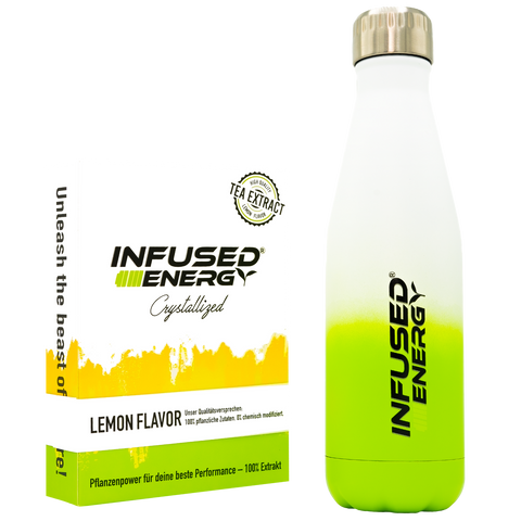 Infused energy crystallized LEMON - Set