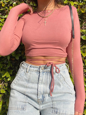 bambi top (MAUVE)