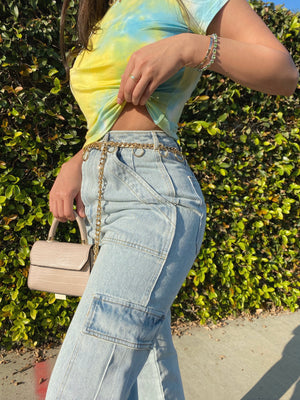 rae mini bag (NUDE)