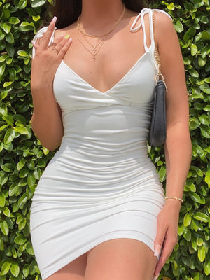 sofia dress (WHITE)