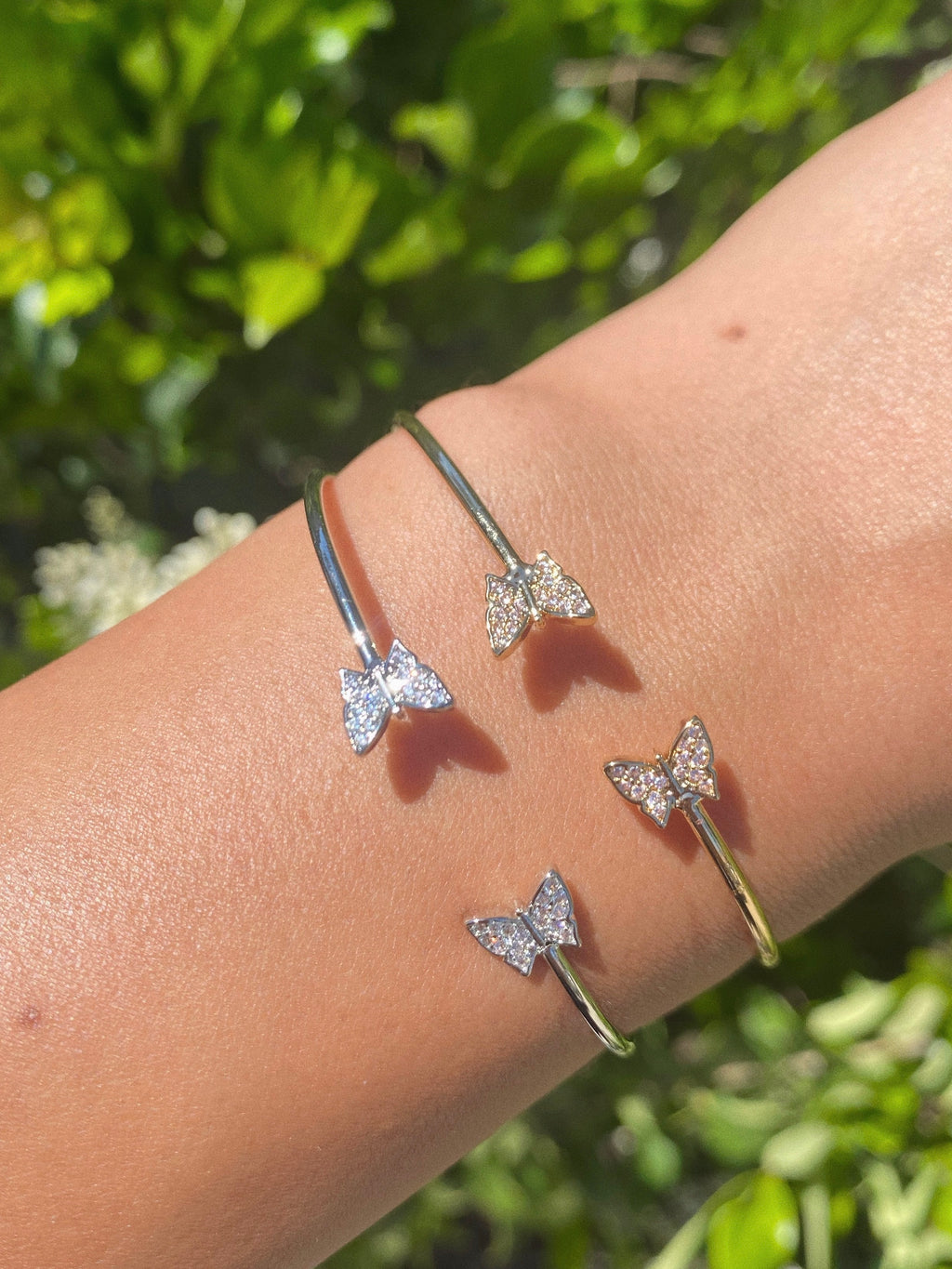 baby butterfly cuff (GOLD)