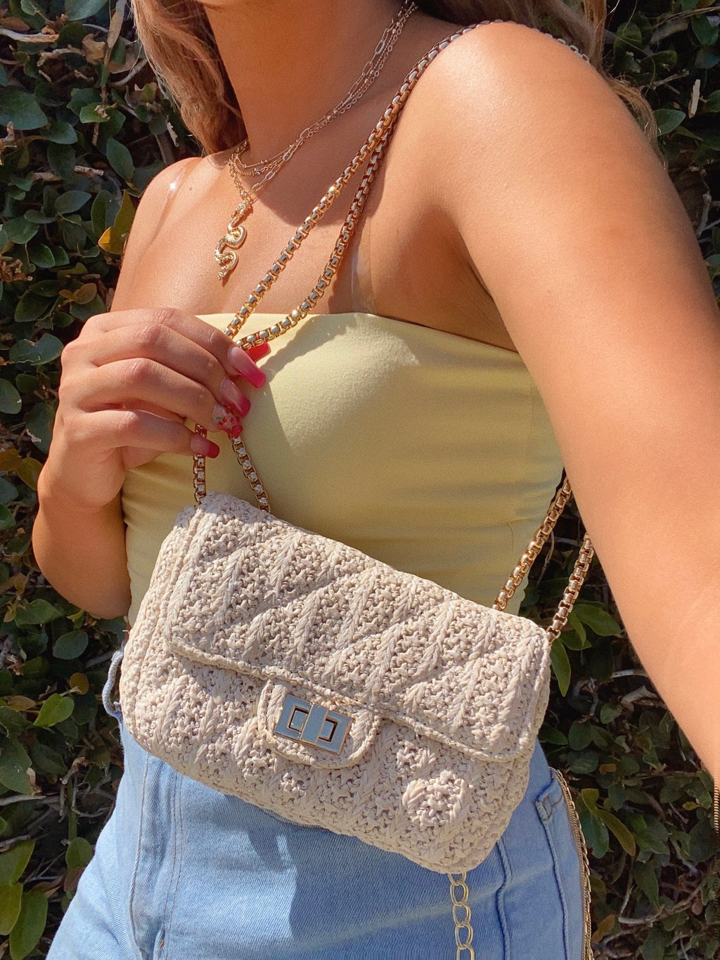 maui bag (LIGHT TAN)