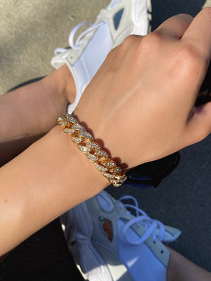 icy girl bracelet (GOLD)