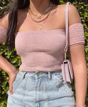 khloe top (BLUSH)