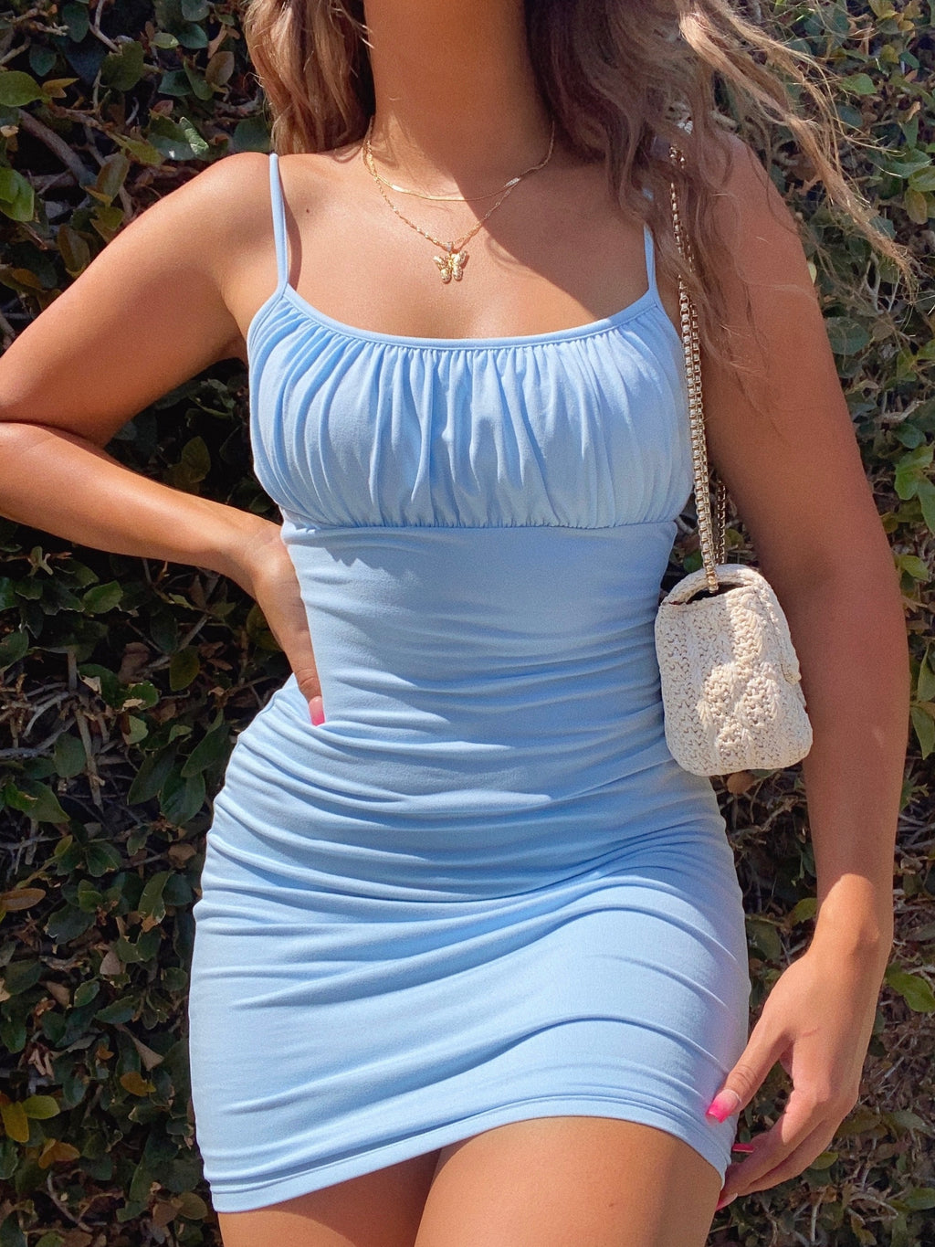 cindy dress (BABY BLUE)