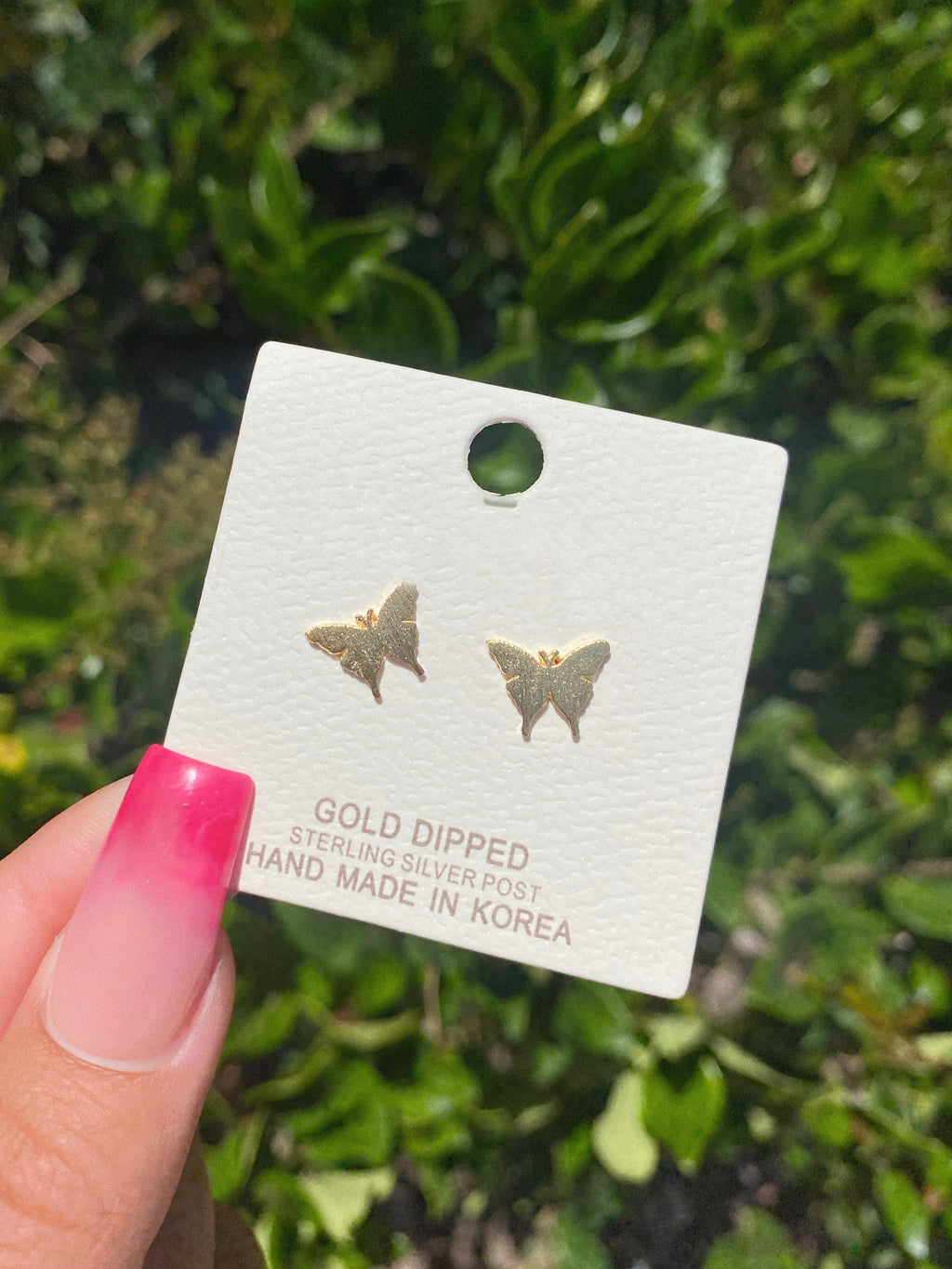 pixie earrings (GOLD DIPPED)