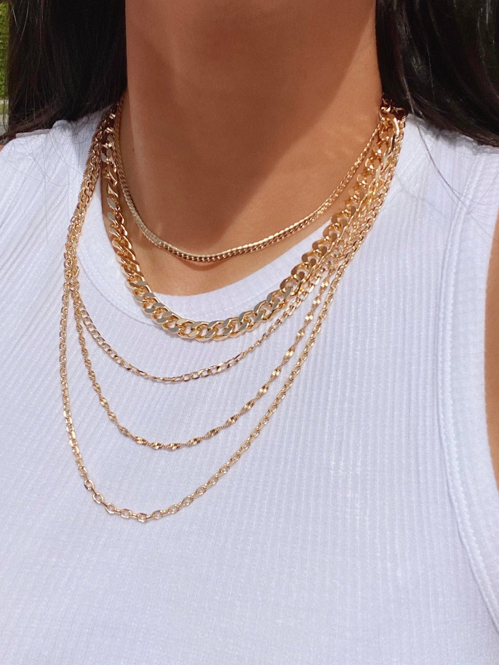 stevie necklace (GOLD)