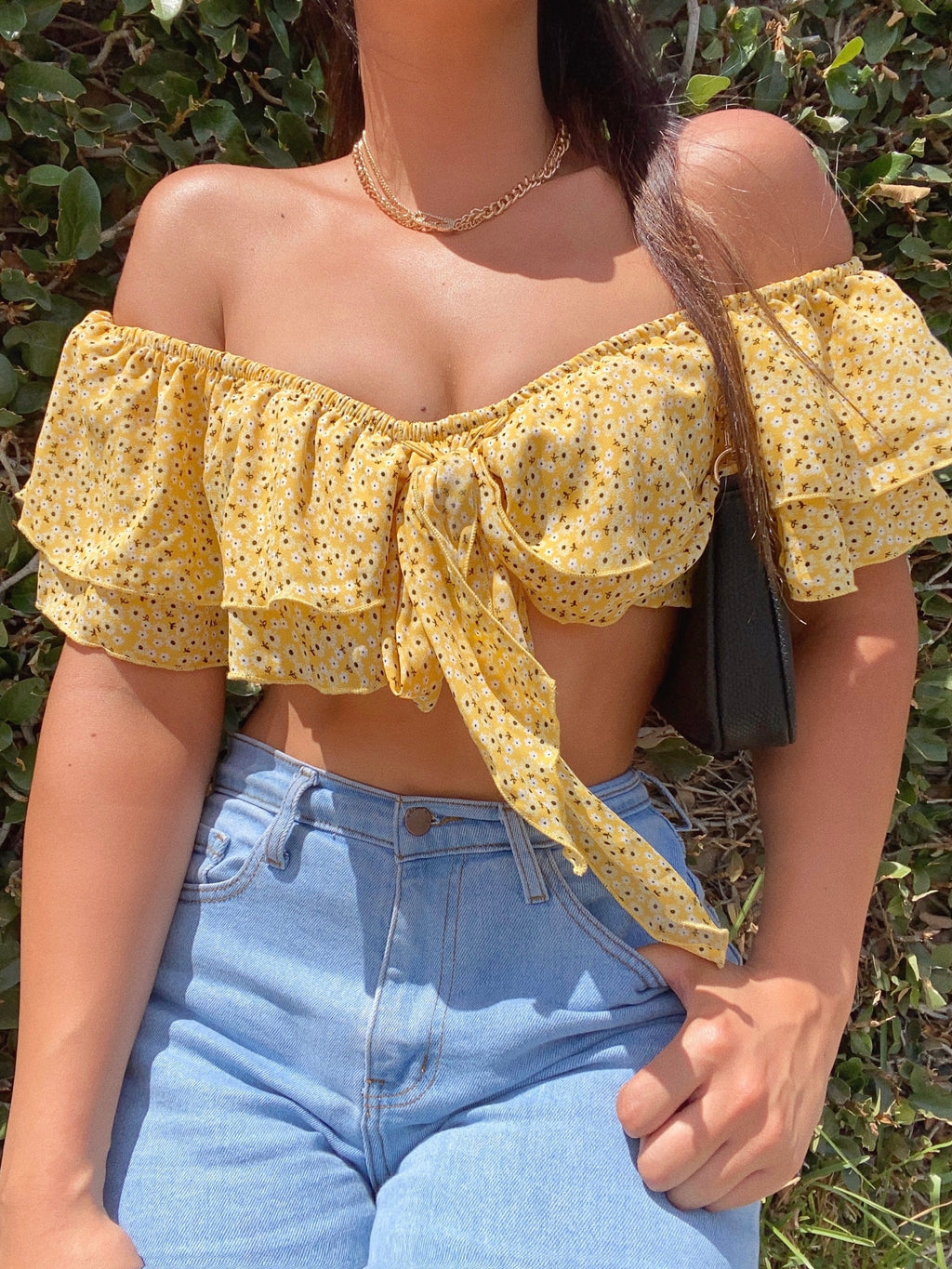 anastasia top (YELLOW)