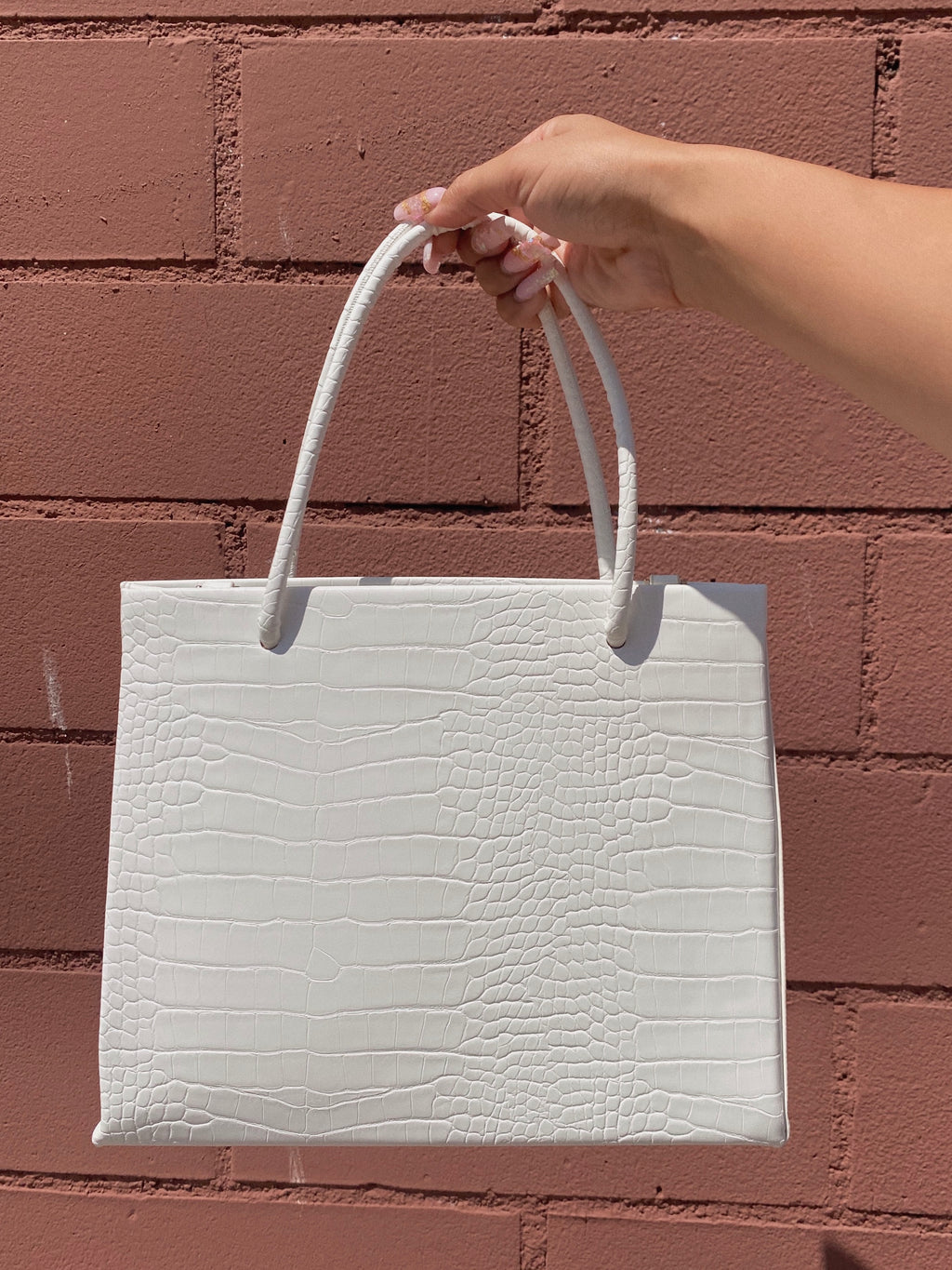 jenner bag (WHITE)