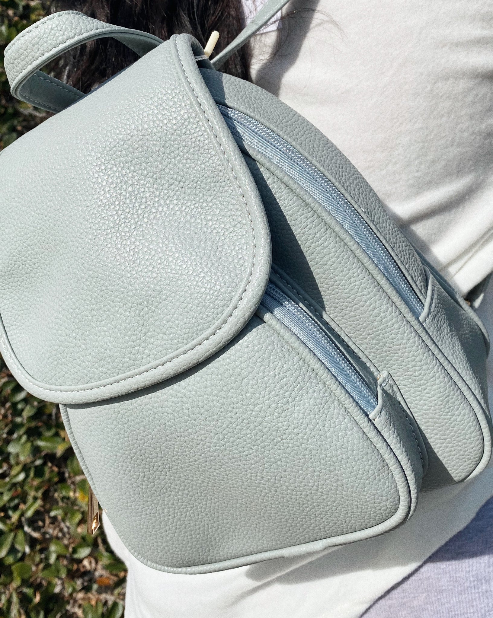 jemma mini backpack (BABY BLUE)
