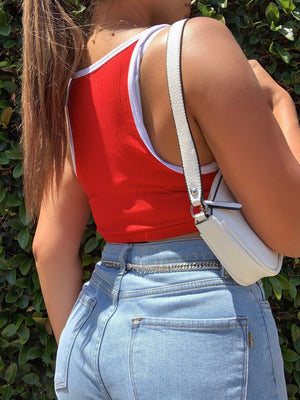 sarahi crop top (RED)