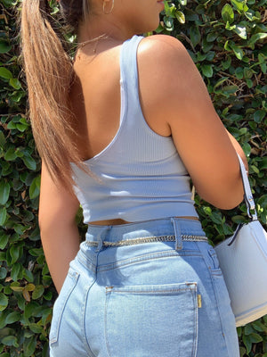 skylar tank (DENIM BLUE)