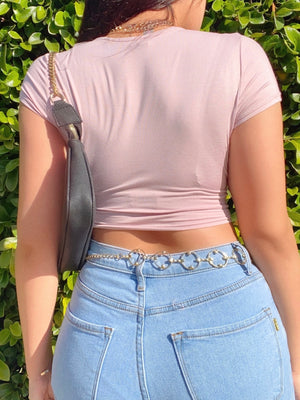 nessa top (LIGHT MAUVE)