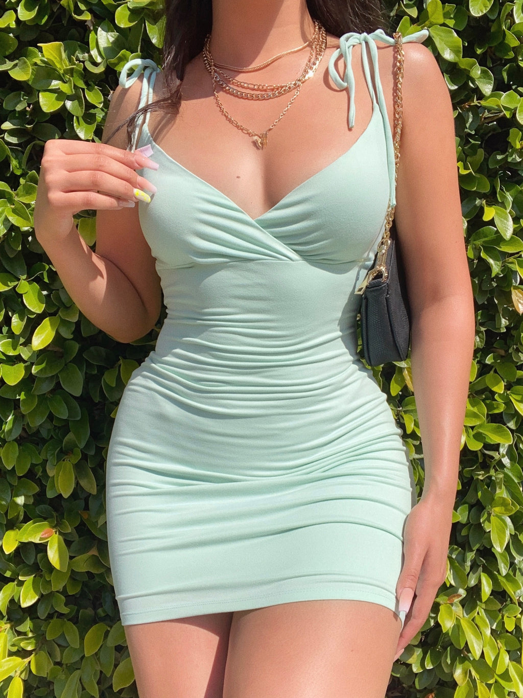 sofia dress (SAGE/MINT)