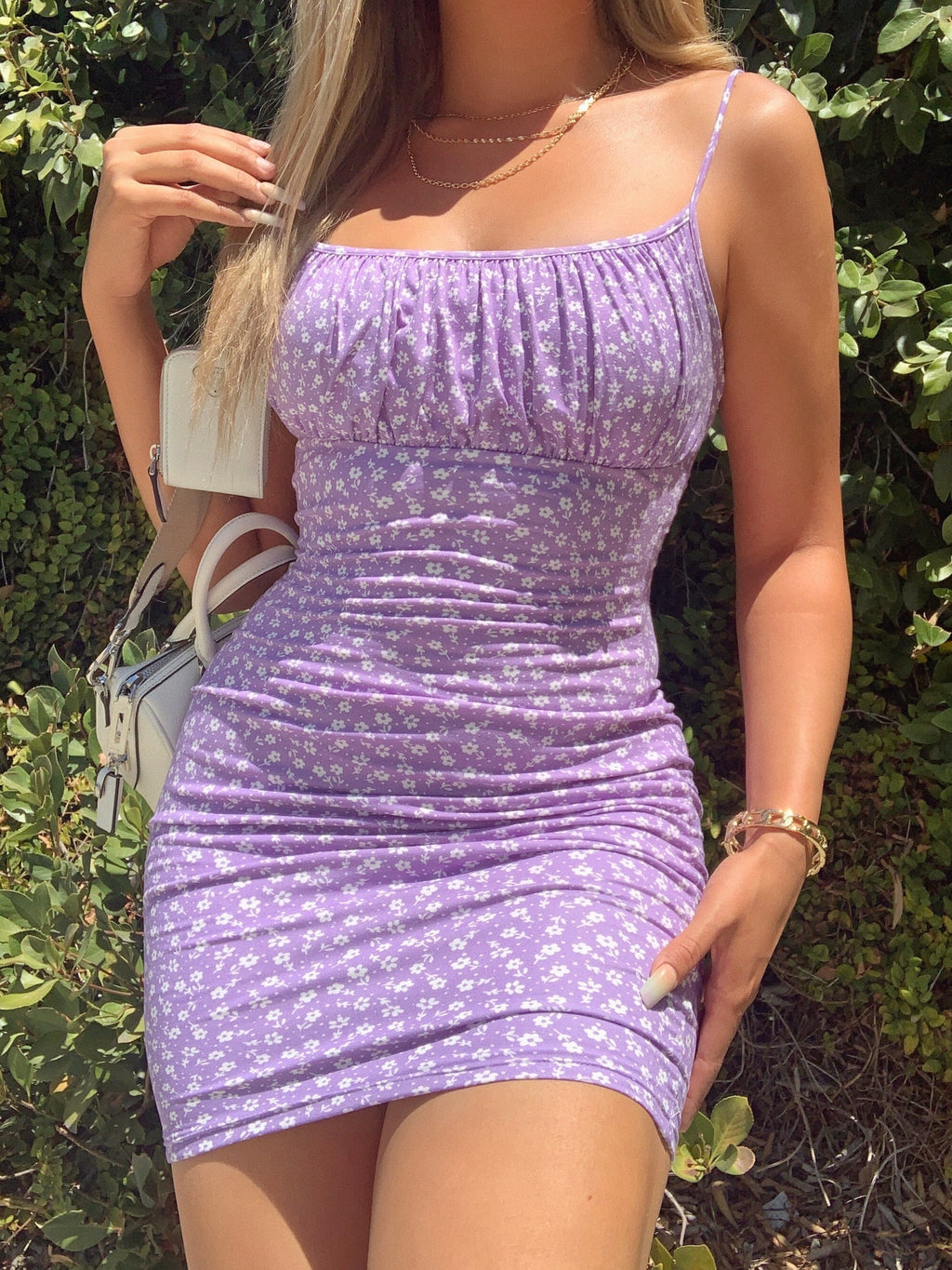 polly dress (LAVENDER)