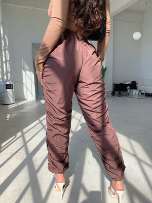 sorella jogger pants (CHOCOLATE)
