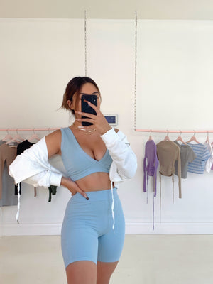 always cozy **TOP** (BABY BLUE)