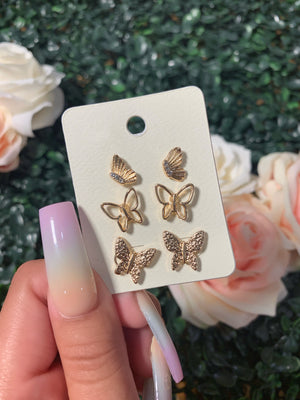 denise earrings (GOLD)