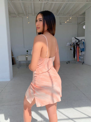 maxine dress (ORANGE SHERBERT)