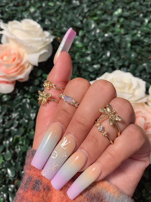 mia 5 ring set (GOLD)