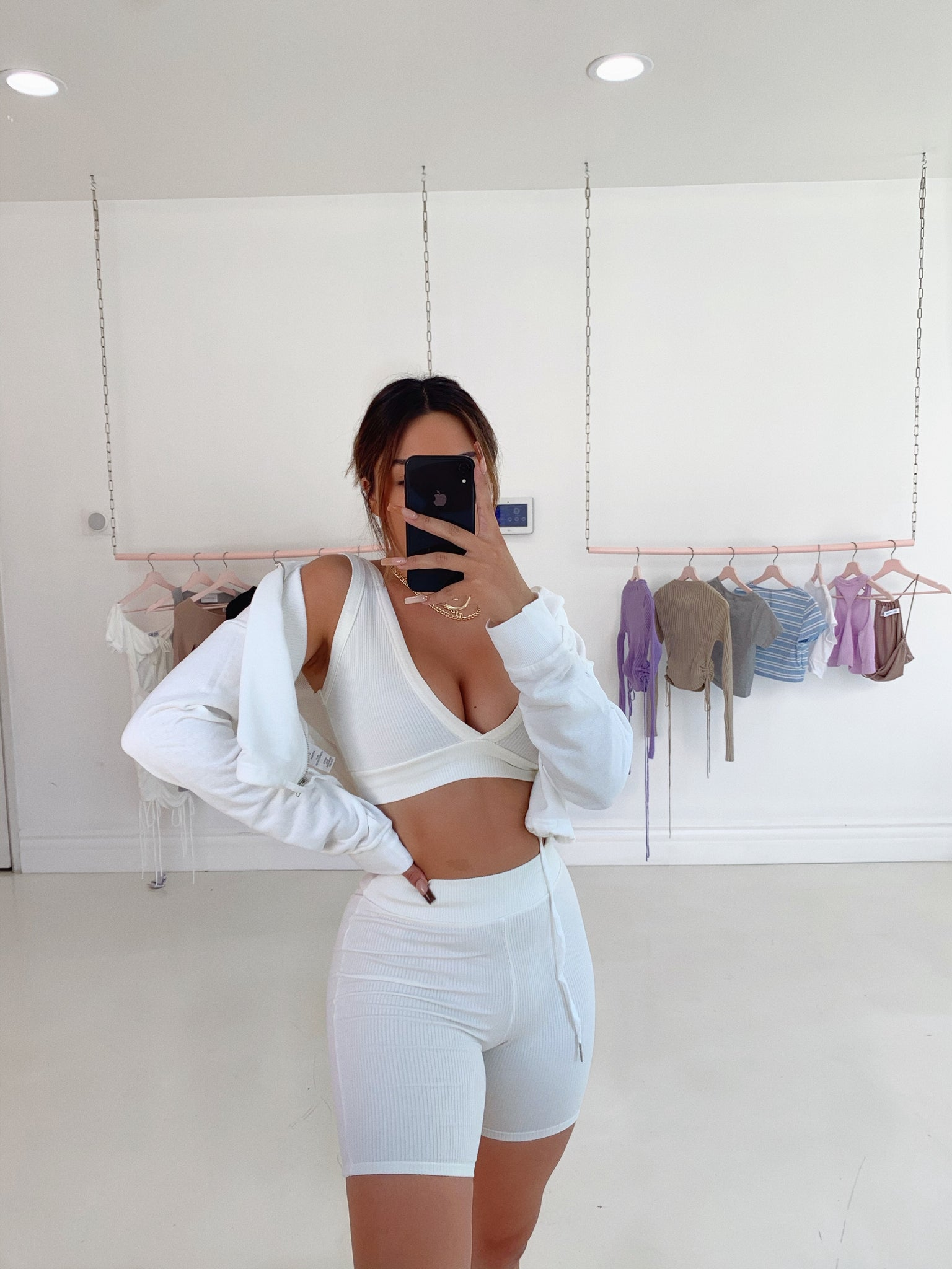 always cozy **TOP** (WHITE/IVORY)