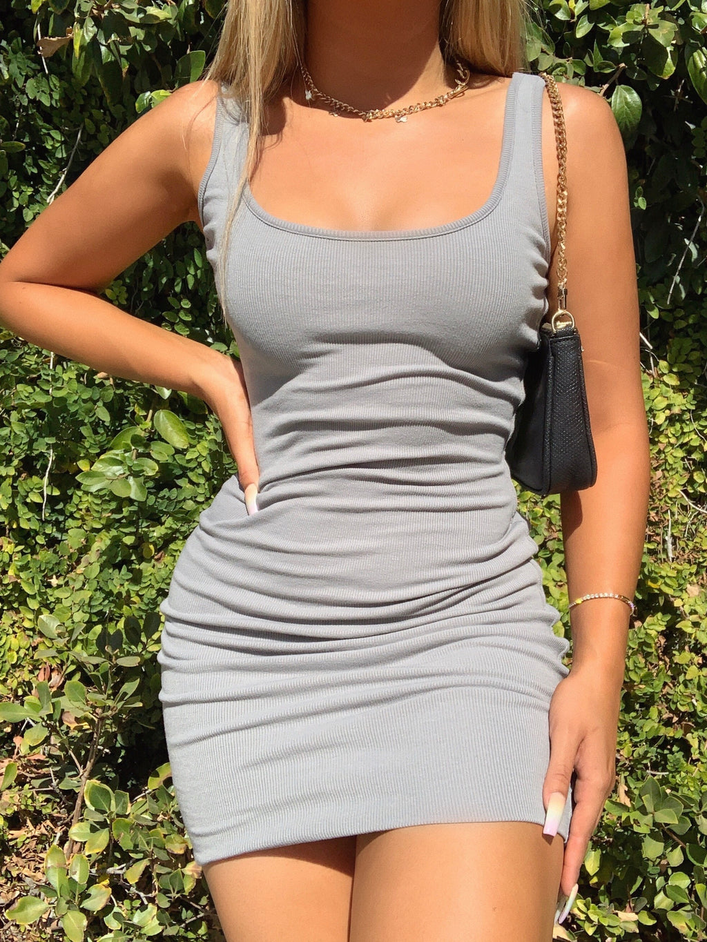 saint dress (GRAY)