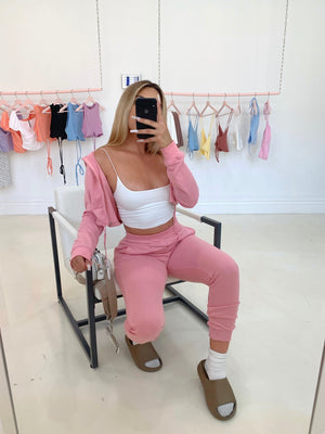 raquel jogger set (BLUSH)