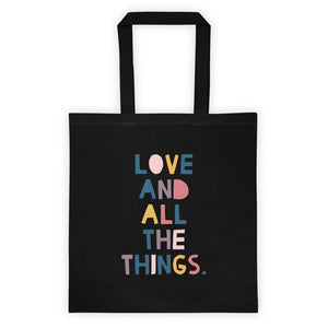 LOVE AND THINGS TOTE