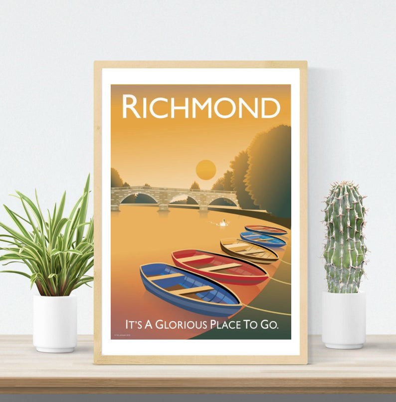 Richmond Vintage Style Poster