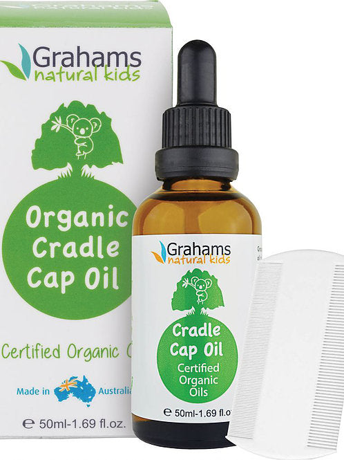 Graham's Natural Organic Cradle Cap Oil 50ml