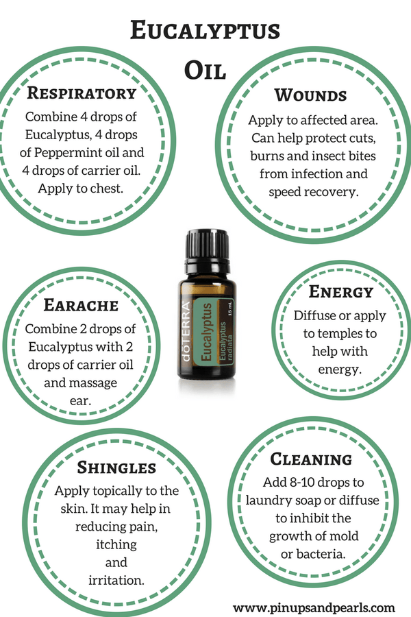 Doterra Essential Oil - Eucalyptus 15ml