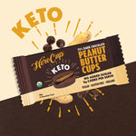 HEROCUP Peanut Butter Cup 70% Dark Chocolate Keto
