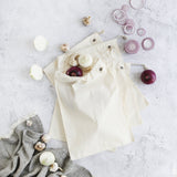EVER ECO Cotton Muslin Produce Bags 4pk