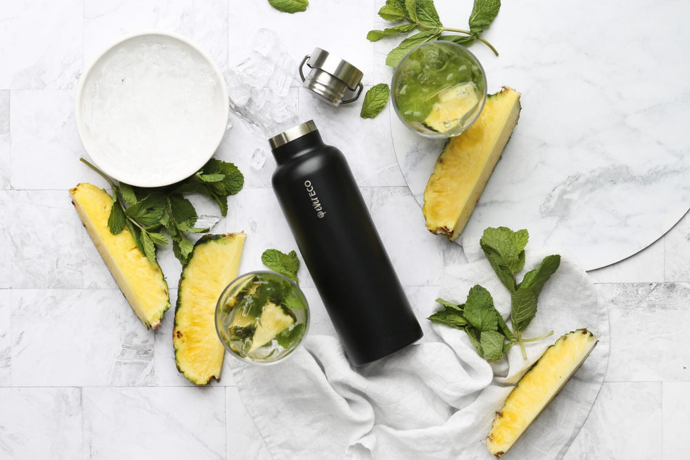 Ever Eco Stainless Steel Insulated Bottle- Black 750ml