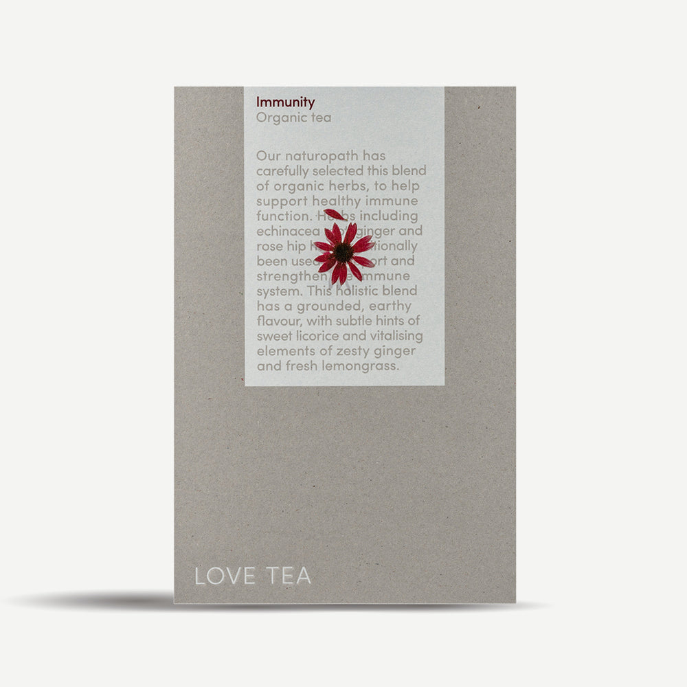 Love Tea Organic Immunity Tea Loose Leaf 75g