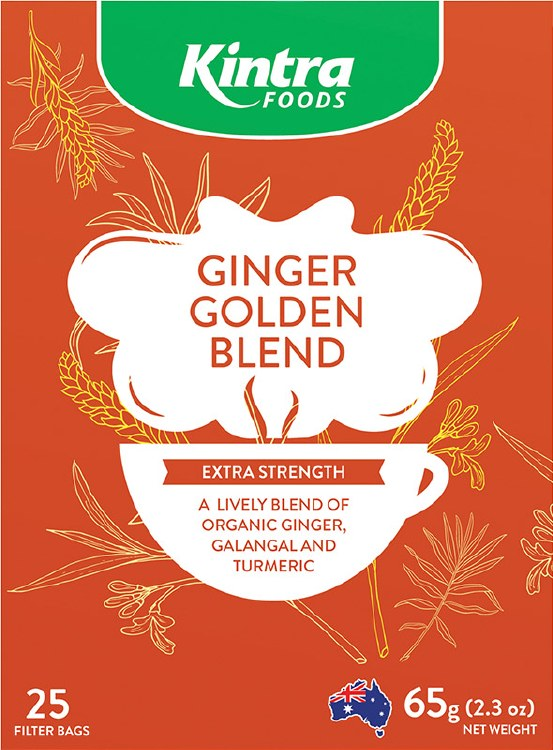 Kintra Foods Ginger Golden Blend x25 filter bags