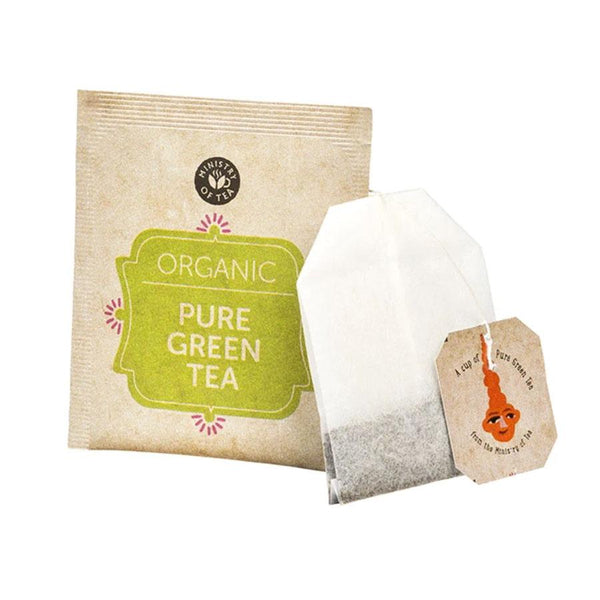 Ministry Of Tea Organic Pure Green Tea x 20 enveloped bags