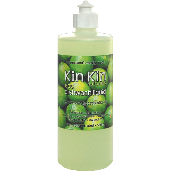 KIN KIN Dish wash Liquid Ultra Concentrate Lime Eucalyptus - 550ml