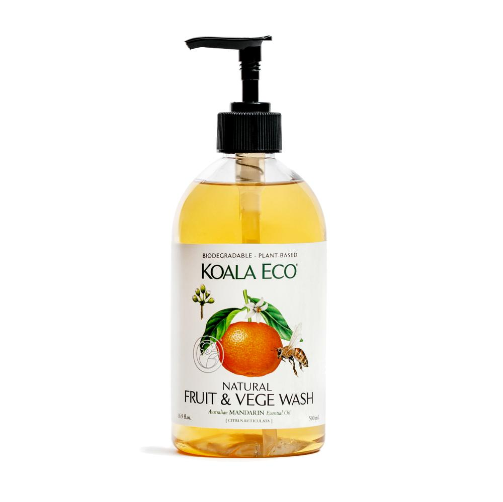 KOALA ECO Fruit and Vegetable Wash Mandarin Essential Oil - 500ml